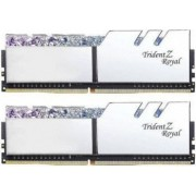 Kit Memorie GSKill Trident Z Royal RGB Silver 16GB 2x8GB DDR4 3600MHz CL17 1.35v Dual Channel