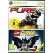 Xbox 360 Pure + Lego Batman The Video Game (tweedehands)