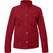 FjallRaven Räven Jacket W - Deep Red - Freizeitjacken S