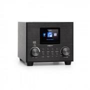 Auna Streamo Cube Radio internet WiFi Bluetooth USB AUX - Noire