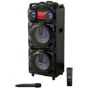 Boxa Portabila Akai ABTS-T1203, 90W, Bluetooth, Radio FM, Microfon (Negru)