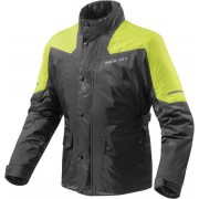 Rev'it! Rain Jacket Nitric 2 H2O Black-Neon Yellow XYL