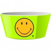 Mini Bol pentru cereale Cereal Smiley Verde, Ø15 cm