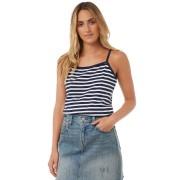 Swell Thin Strap Jersey Tank Stripe