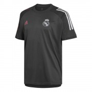 adidas Real Madrid Trainingsshirt 2020-2021 Grey - Grijs - Size: Medium