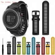2017 Wrist Watch B Strap High Quality Fashion Soft Silicone Replacement Watch B With Tools For Garmin Fenix 3 1124d30 P*21