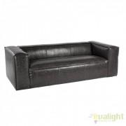 Canapea design vintage DAKOTA 3-4 SEATS negru 0748054 BZ