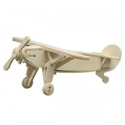 Pebaro Puzzle lemn Avion Sport