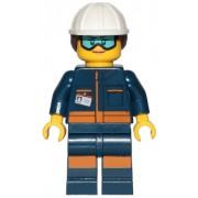 cty1060 Minifigurina LEGO City-Technician fata cty1060