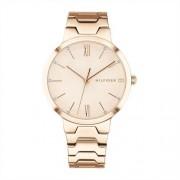 Tommy Hilfiger Uhr Avery für Damen aus rosévergoldetem Edelstahl