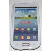 Силиконов гръб ТПУ за Samsung I8190 Galaxy S III mini Бял