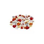 Merkloos Rode diamanten stenen hart