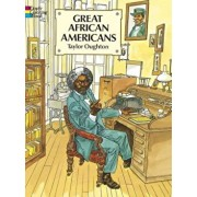 Great African Americans Coloring Book, Paperback/Taylor Oughton