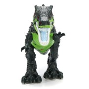 Green Dinosaur Kids Toy Electric Crying Sounds Real Lamplight Walking Toys