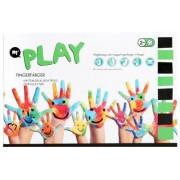 Fingerfärg, 6 färger