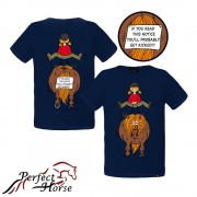 Perfect Horse barn t-shirt Kick girl