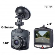 NavGear HD-Dashcam mit G-Sensor, Bewegungserkennung, 6,1-cm-Display, 140°