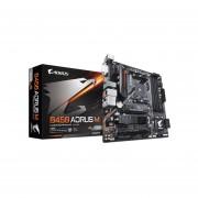 T. Madre Gigabyte B450 AORUS M, ChipSet AMD B450, Soporta, AMD Ryzen