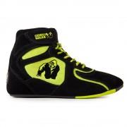 "Gorilla Wear Chicago High Tops - Zwart/ Neon Groen Limited"""" - Maat 36"""""