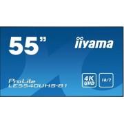 "IIYAMA ProLite LE5540UHS-B1 - 55"" Klasse (54.6"" zichtbaar) - led-scherm - digital signage-technologie - Android - 4K UHD (2160p) 3840 x 2160 - dof zwart"