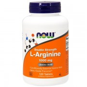 L-Arginine 1000mg 120 Tablets NOW Foods