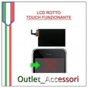 Sostituzione Riparazione Cambio Schermo LCD DISPLAY Rotto per Apple Iphone 3G 3GS