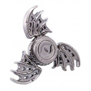 Dragon Steampunk Dragon Wings Metall Fidget Spinner - Silverfärgad