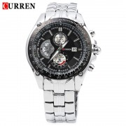 2017 New Curren 8083 Watches Men Luxury Brand Military Men Watch Full Steel Wristwatches Fashion Waterproof Relogio Masculino