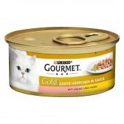 Gourmet Gold Bocaditos en Salsa 24 x 85 g - Pollo e hígado