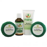 Manuka Natural Manuka Pakket tegen Schurft - Zeep + Olie + Crème