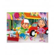 Puzzle 104 Handy Manny Amigos - Clementoni