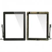 Apple iPad 4 Komplett Glas & Digitizer med delar - Svart
