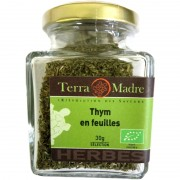 Thym bio en feuilles 30 g Terra Madre