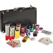 Póker készlet BLACK EDITION - 300 db zseton