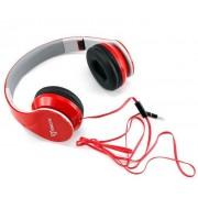 Cuffie Stereo con microfono HS-501R Rosso