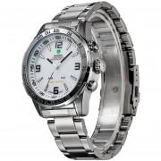 Relojes WEIDE WH1009 Cuarzo Japón Digitales LED (Blanco)