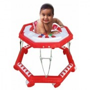 Oh Baby Baby Red color big musical walker for your kids LJV-CSA-SE-W-57