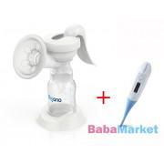 BabyOno mellszívó kézi 053 digitális flexibilis lázmérővel 118