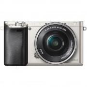 Resigilat: Sony A6000 Aparat Foto Mirrorless 24MP APSC Full HD Kit cu Obiectiv 16-50 F/3.5-5.6 OSS Argintiu - RS125011357-20