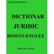 Dictionar juridic Roman-Englez (eBook)