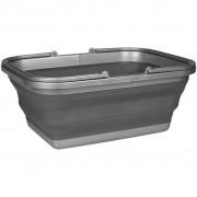 Abbey Camp sklopiva kadica za pranje 16 L siva 21WM-GRA-Uni