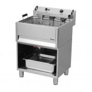 Friteuse | Elektrisch | Bakkerij | 30 Liter | 400V | 15kW | Met Open Onderbouw | 615x490x(h)130mm