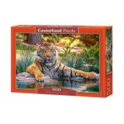 Puzzle Tigru sumatran, 500 piese