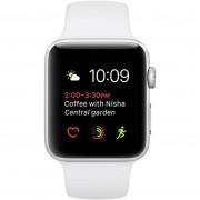 Apple Watch Serie 1 Mnnl2ql/a Smartwatch 42 Mm Fascia Sportiva Colore Bianco