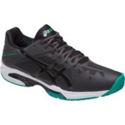 Asics GEL - SOLUTION SPEED 3 - DARK GREY/BLACK/LAPIS Tennis Shoes For Men(Black)