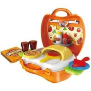 SHRIBOSSJI Latest Pizza Party Play Set For Kids- 22 pieces Role Play Toy