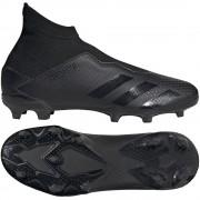 adidas Predator 20.3 Laceless FG Kids Core Black - Zwart - Size: 37 1/3