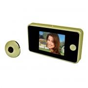 PROXE Spioncino Digitale Compatto Gold Pannello Lcd 2,8'' Tft Telecamera 0,3 Megapixel
