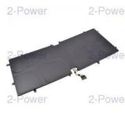 2-Power Laptopbatteri Dell 14.8V 4840mAh (D10H3)