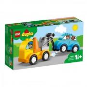 Set de constructie LEGO DUPLO-Primul meu camion de remorcare
